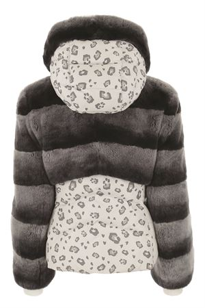 CATERINA DOWN JACKET M -LEOWHITE-