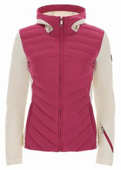 CAMELIA SOFTSHELL DOWN JACKET